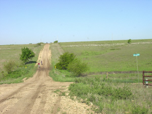Flinthills road photo