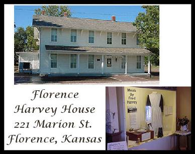 Harvey House, 221 Marion St. Florence Kansas