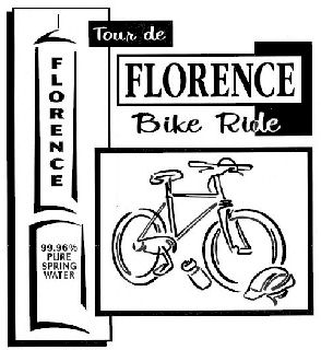 Tour de Florence Bike Ride poster